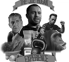 The Joe Rogan Experience - Black and White by TheBCPosse
