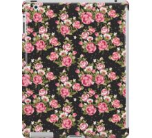 Shabby Chic Pink And White Roses iPad Case/Skin