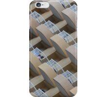 Symmetrical hotel balconies iPhone Case/Skin