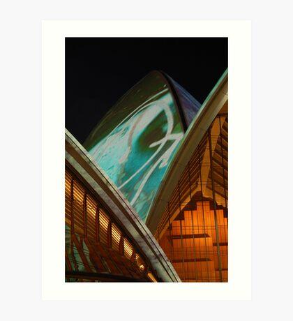 Vivid Sails Art Print