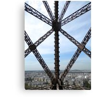 It's all about the ironwork Canvas Print