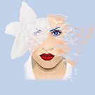 Blooming Beauty / Fashion Illustration by Mariska