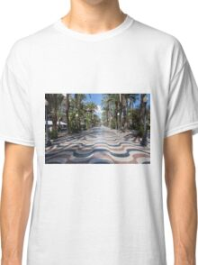 Alicante wavy pavement Classic T-Shirt