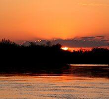 Twilight on the Assiniboine by Larry Trupp