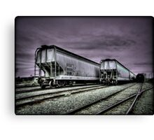Rail Cars Canvas Print