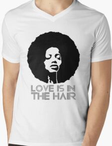 Love is in the hair Mens V-Neck T-Shirt