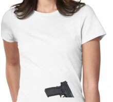 Sexy Springtime Springfield Womens Fitted T-Shirt