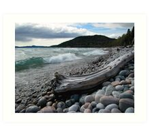 Glorious Pebble Beach - Marathon Art Print