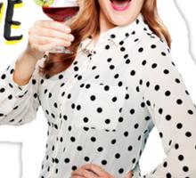 Mamrie Hart - You Deserve A Drink (Style 1) Sticker