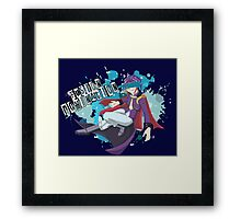 Fusion Domination  Framed Print