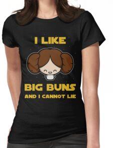 I like big buns Womens Fitted T-Shirt