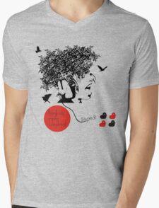 Bjork all is full of love Mens V-Neck T-Shirt