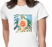 light lotus Womens Fitted T-Shirt