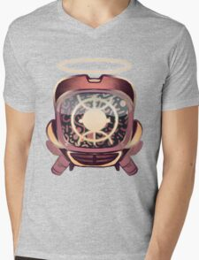Retro 90s canti Mens V-Neck T-Shirt