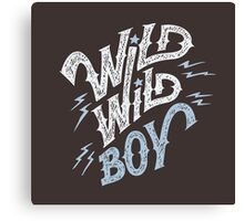 Wild Wild Boy Canvas Print