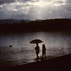 Two little girls... Tuross Lake by JennyMac