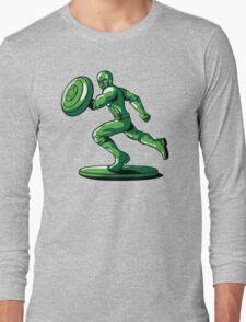 CAPTAIN: THE PLASTIC SOLDIER Long Sleeve T-Shirt
