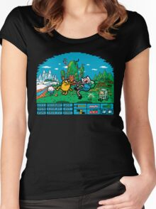 The Secret Of Ooo Island Women's Fitted Scoop T-Shirt