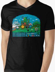 The Secret Of Ooo Island Mens V-Neck T-Shirt