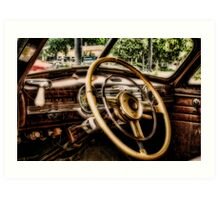 INSIDE '48 FLEETLINE Art Print