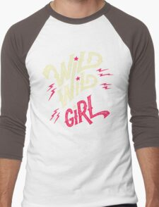 Wild Wild Girl Men's Baseball ¾ T-Shirt