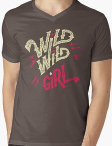 Wild Wild Girl Mens V-Neck T-Shirt