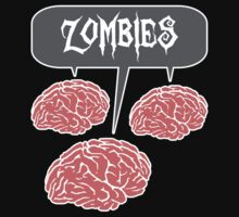 Zombies Brains by KDGrafx