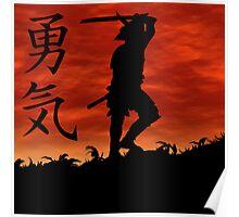 Samurai Courage Poster