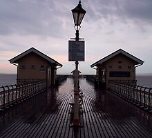 Storm over Penarth Pier by Hannah Welbourn