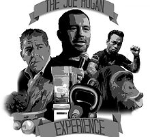 The Joe Rogan Experience Stencil by TheBCPosse
