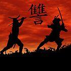 Dueling Samurai Revenge by Okeesworld