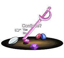 Gems Continue - Steven Universe Photographic Print