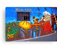 Viva Mexico! Canvas Print