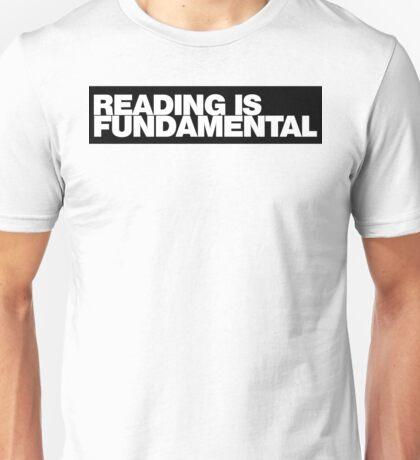 Reading is FUNDAMENTAL Unisex T-Shirt