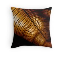 Orange Arcade Throw Pillow