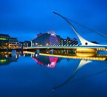 Samuel Beckett Bridge in Dublin, Ireland by Yen Baet