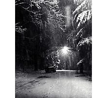 Night Snow Photographic Print