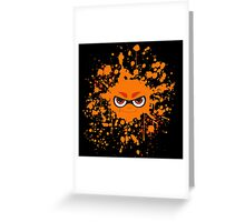 Inkling Splatter Greeting Card