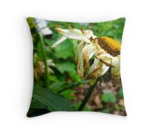 In Blazing Color Throw Pillow