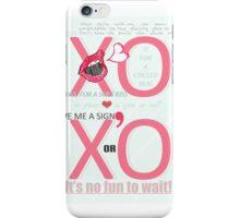 XO Kiss & Hug iPhone Case/Skin