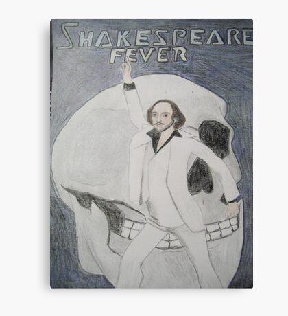 Disco Shakespeare Canvas Print
