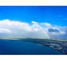 Maui Rainbow Photographic Print