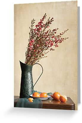 Heather and Oranges by Colleen Farrell