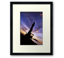Morning Works Framed Print