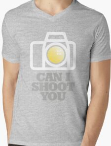 Photographer Mens V-Neck T-Shirt