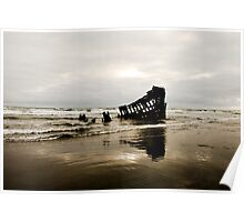 Wreck of the Peter Iredale Poster