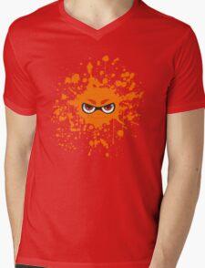 Inkling Splatter Mens V-Neck T-Shirt