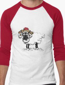 Rabbie Baa-rns Men's Baseball ¾ T-Shirt
