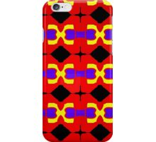 sdd Primary Pattern 1A iPhone Case/Skin