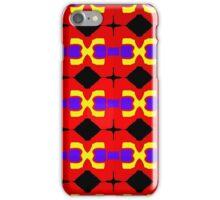 sdd Primary Pattern 1A iPhone Case/Skin